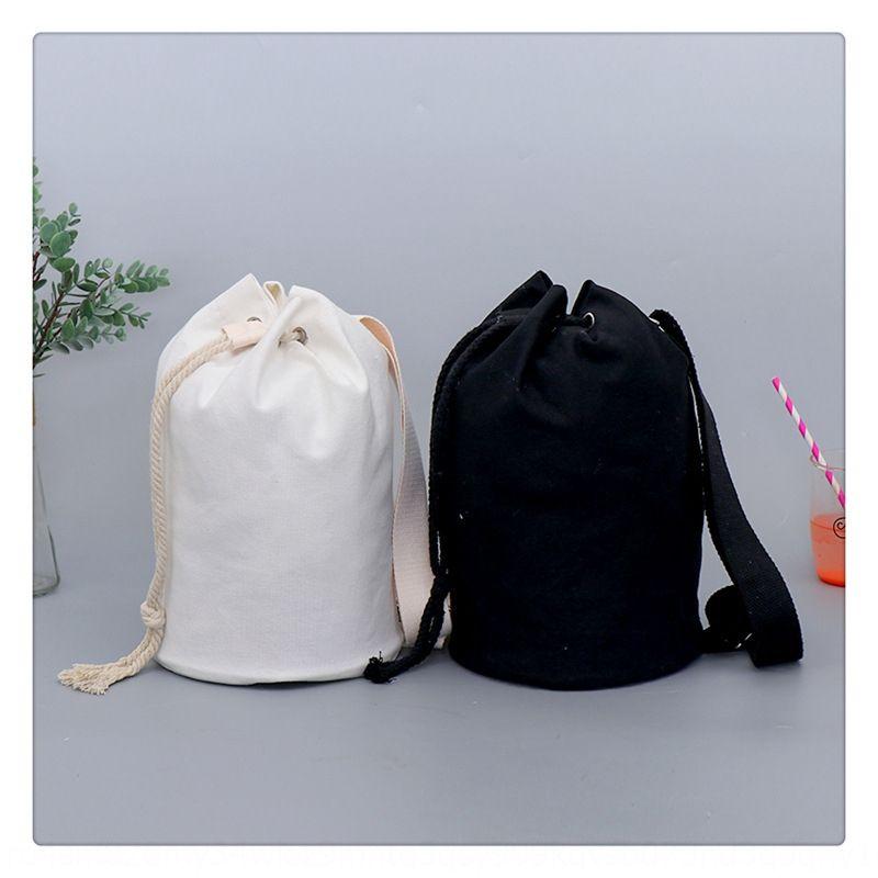 Eğik özel omuz Omuz tuval kişiselleştirilmiş öğrenci çift torba kanvas çanta