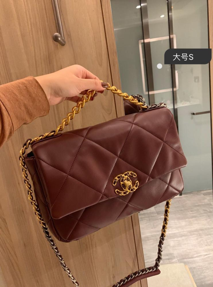 otoño e invierno Nuevos productos mujeres de la manera bolsos de personalidad clásico de alta calidad inclinado hombro bolsas de mensajero mujer 121561
