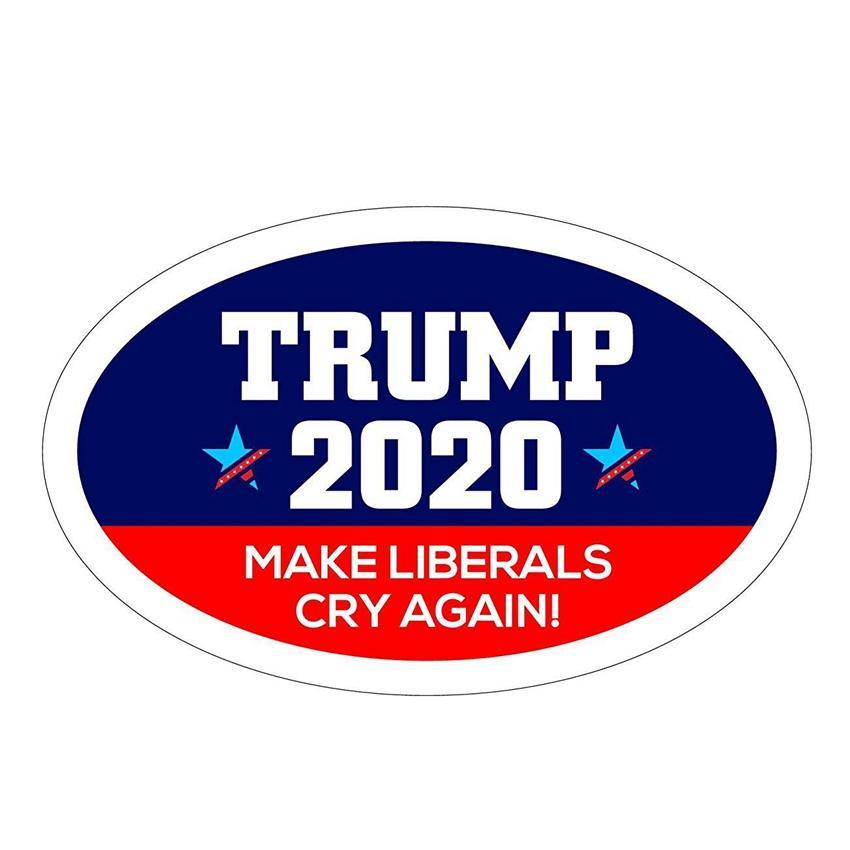 9 Styles Trump Autocollants de voiture font de l'Amérique 2020 Trump Grande Encore une fois autocollants président américain Donald Trump voiture Bannière Autocollant ZZA1929