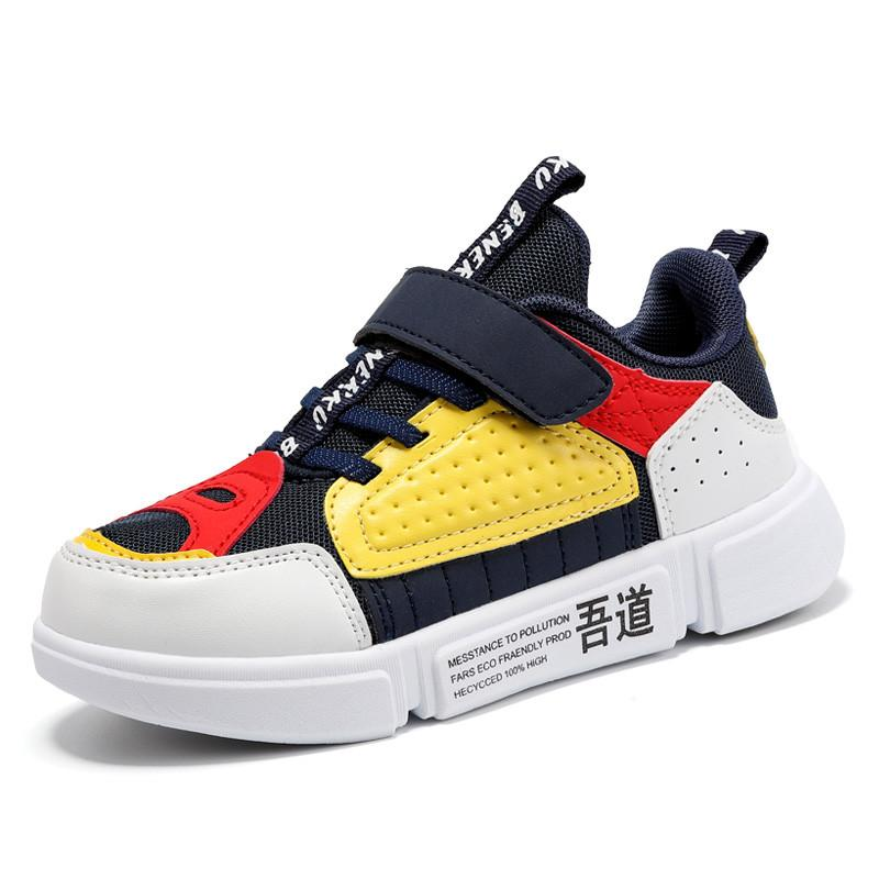 Atlético al aire libre 2021 primavera niños zapatillas de deporte zapatos de chicas moda transpirable Casual luz deportes corriendo para niños Marca Niños 516