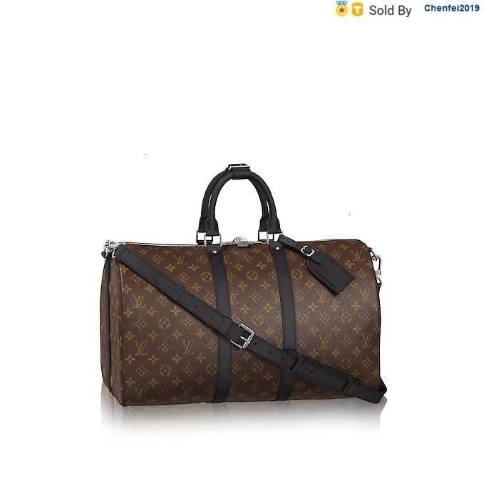 chenfei2019 TCVB Keepall45 Classic Travel Bag Shoulder Strap M56711 Totes Handbags Shoulder Bags Backpacks Wallets Purse