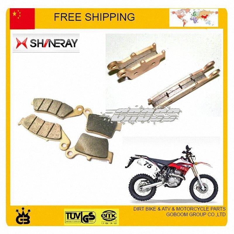 shineary frente X2 X2X 250cc e freio a disco traseiro almofadas conjunto completo 4pc motocicleta acessórios frete grátis JFVS #