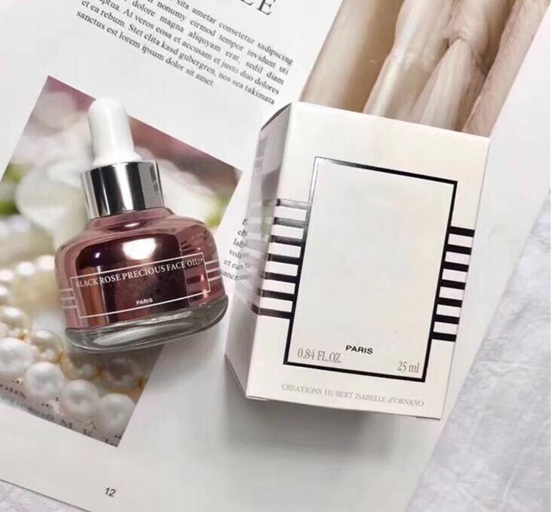 Dropshipping berühmte Marke Schwarze Rose kostbares Gesicht Ätherische Öle Serum beste Qualität Hautpflege Essenz 25ml / pcs