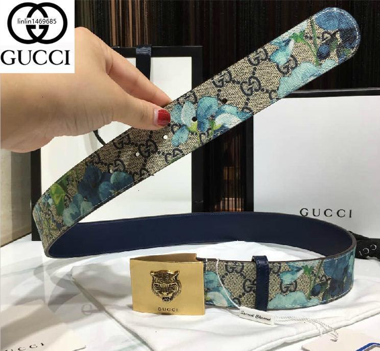RUOT O mais recente estilo de clássicos da correia floral autênticos Belts Homens dos homens para homens Cinto Com Box