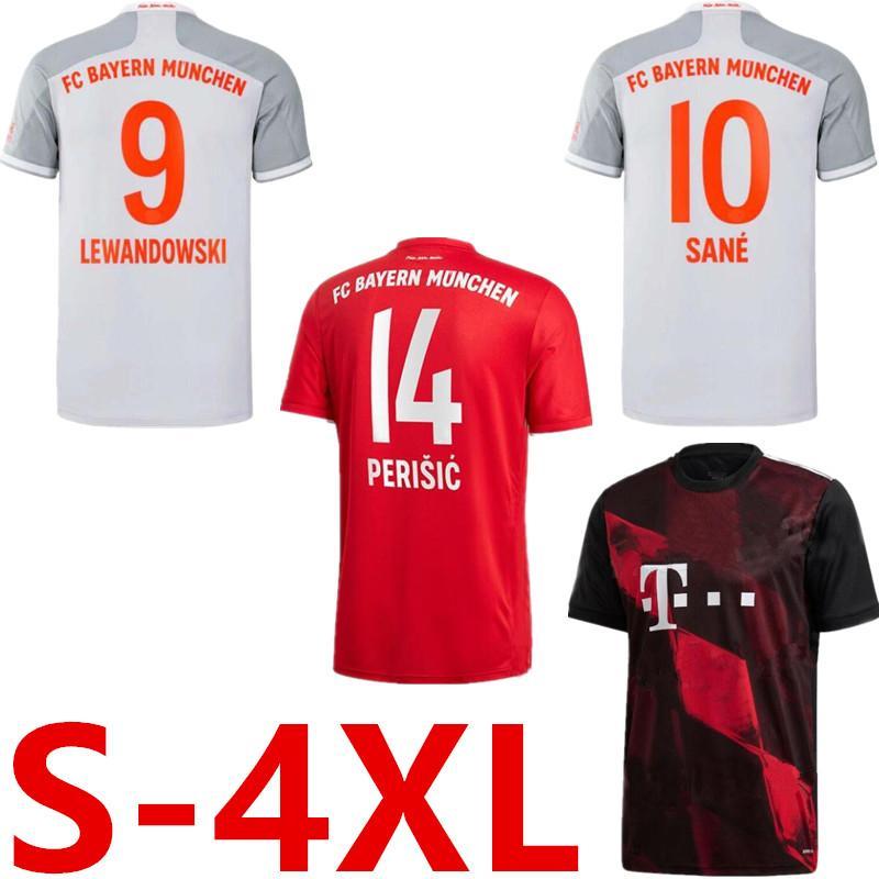 Camisa Munique bayern 20 21 SANE LONGE LEWANDOWSKI Bayern de Munique Gnabry jérsei de futebol 2020 2021 camisa camisa de futebol NIANZOU MUNCHEN S-4XL