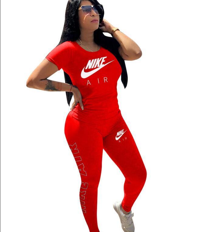 Artı boyutu 2 Adet marka Eşleştirme Seti Kadınlar Eşofman Harita Kısa Kollu İnce harfi Kısa Eşofman Lounge Giyim Kıyafetler yazdır