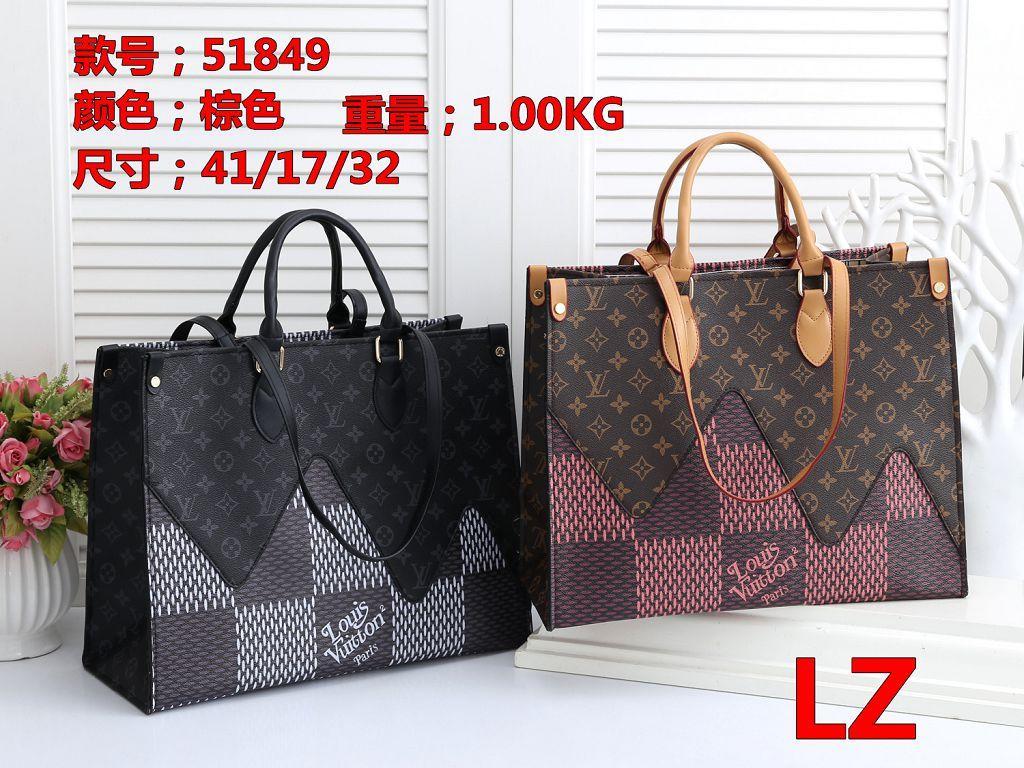 HHH LZ 51849 Besten Preis-Qualitäts-Frauen-Damen-Einzel Handtaschentotalisator Schulterrucksackbeutel Geldbörse Portemonnaie