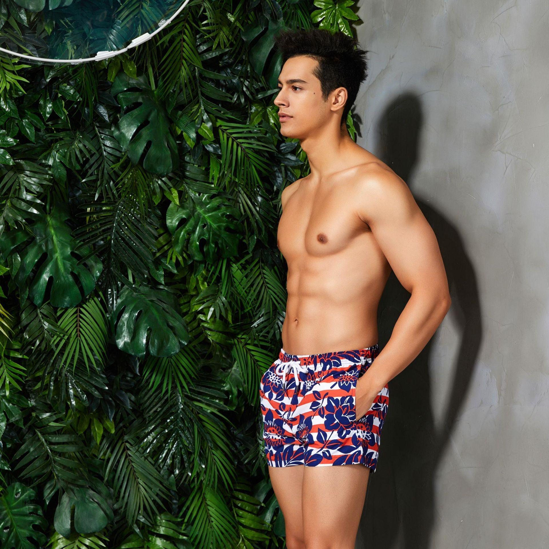Şort seobean plaj yeni plaj erkek pantolonları pantolon mayo 23oeN yüzme Erkekler şort
