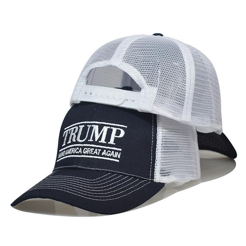 2020 Trump Бейсболка Make America Great вышивка Письмо Регулируемые сетки Спортивная шапки президент Избирательной Truck Hat HHA1446