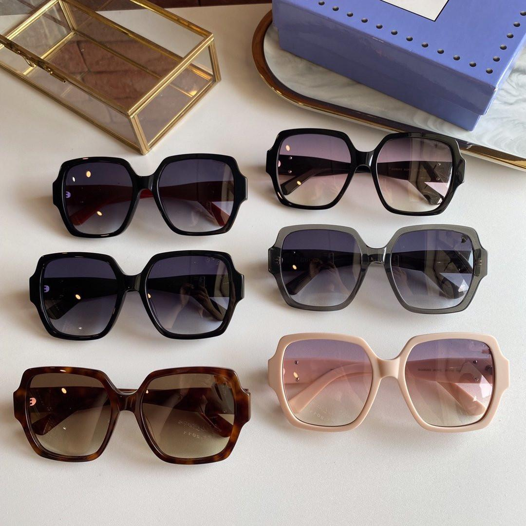 2020g classic square men's and women's radiation protection sunglasses model GG0826s dimensions 57-18-140