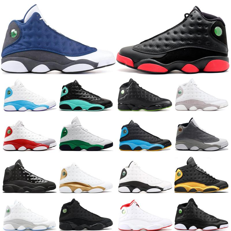 air retro jordan 13 scarpe da basket 13 13s sporco Bred Flint CP3 Away Home Phantom Neutral Isola grigio Chicago sport scarpe da ginnastica all'aperto