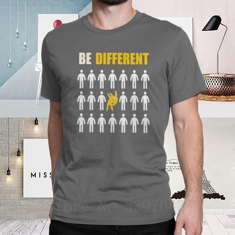 Aikido Tişört Erkekler Eğitim İçin Pamuk Tişörtlü Crewneck Baskılı Farklı Komik Tişörtler Kısa Kollu Artı Boyutu Tops Be