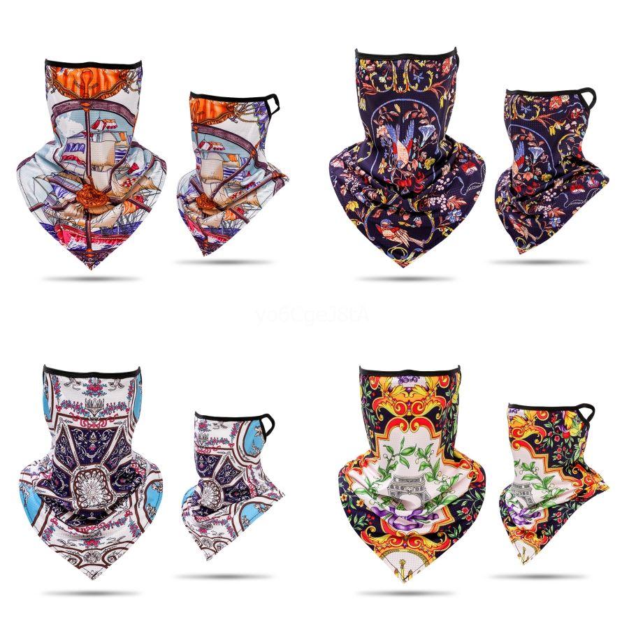 Tasarımcı Fonksiyonlu Kafatası Eşarp bandanas Mektupları Binme Sihirli Yarım Yüz # 346 # 869 Kafatası Eşarp Bisiklet Maske Maske