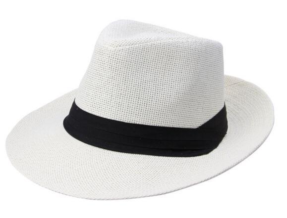 2020 nouveau chapeau dames chapeau de paille, chapeau de paille d'été, les hommes et les femmes grands chapeaux de cow-boy Panama Chapeaux de paille Caps Sports de plein air Brim mode large Chapeaux