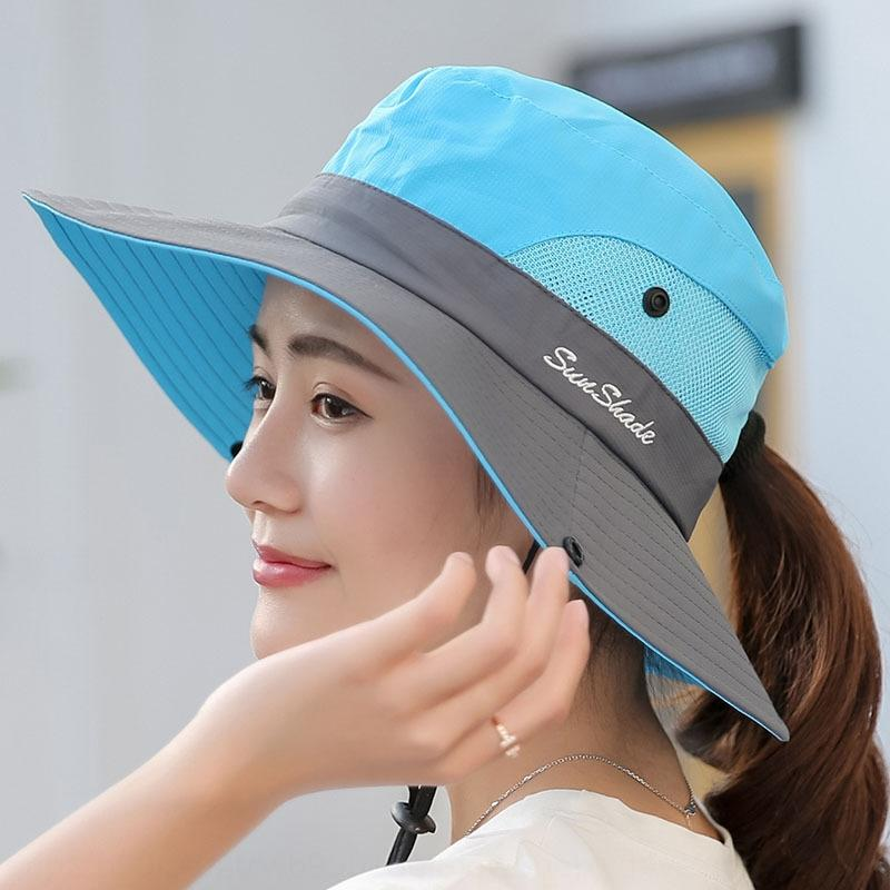 Sports foldable Bicycle shade sun shade sun hat Outdoor Women's sunscreen UV-proof cycling hiking hat
