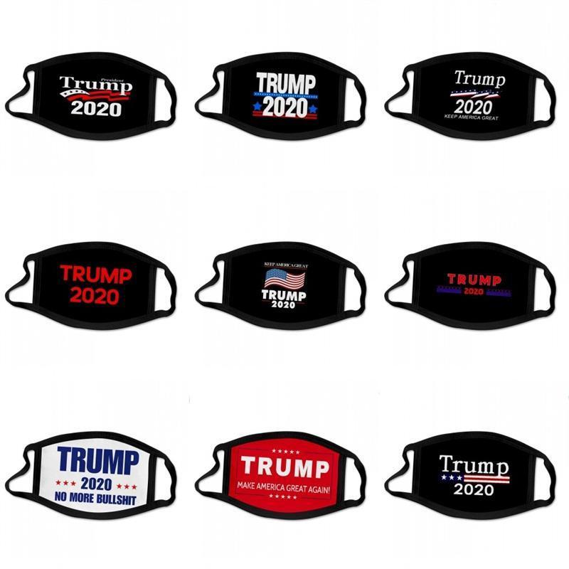 2020 No More Trump Yüz Maskesi Kulak Asma Tip Amerika Bayraklar mascarilla Başkanı Seçim Baskı Maskeler Yıkanabilir 2 2BG C2
