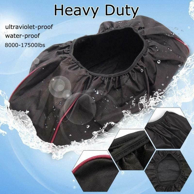 600D Waterproof Soft Winch Dust Cover 8,000 17,500 Lbs Trailer ATV SUV Black New Fashion 2019 c7Wl#