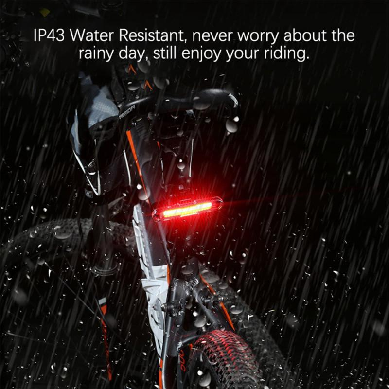 Waterproof Bicycle Taillights 5 Model Flash Bicycle Rear Tail Light USB Rechargeable MTB Road Bike Cycling Light Bike Accessorie
