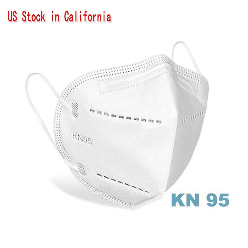 CA에서 미국 주식! 여러 마스크 핫 판매 PM2.5 안개 보호는 호흡 방진 입-머플 방수 무료 DHL과 함께 상자 마스크