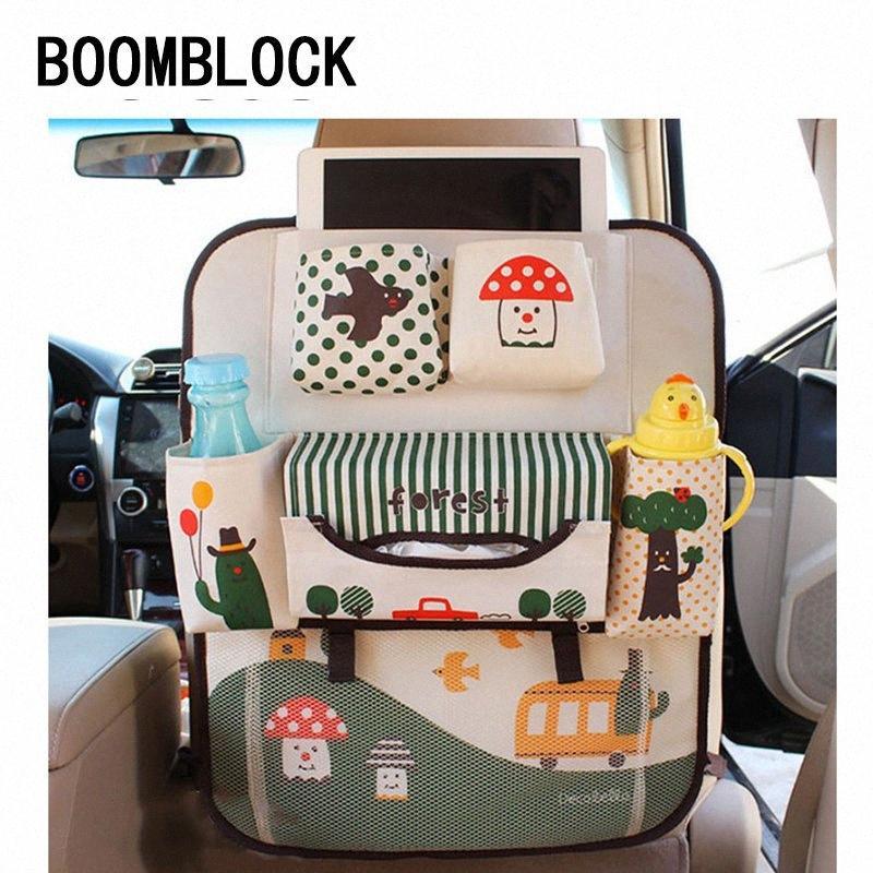 Para BOOMBLOCK W203 W204 307 206 308 Astra H J G coches de dibujos animados del asiento trasero del maletero Accesorios Kid urrr #
