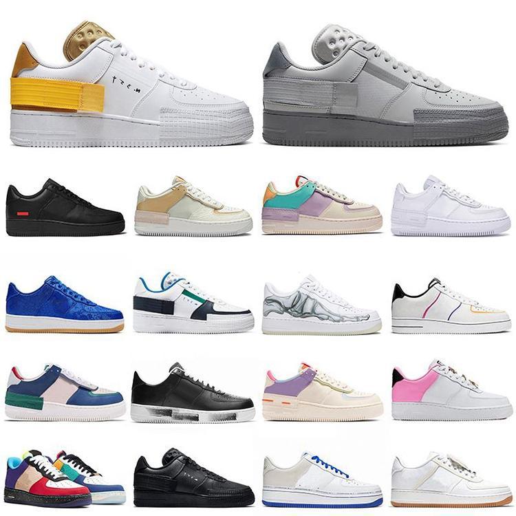 N.354 Homens Mulheres Sapatos casuais Triplo Black 1 Uma alta Dunk Low Platform Sb inferior Moda N.354 Sneakers Chaussures com caixa