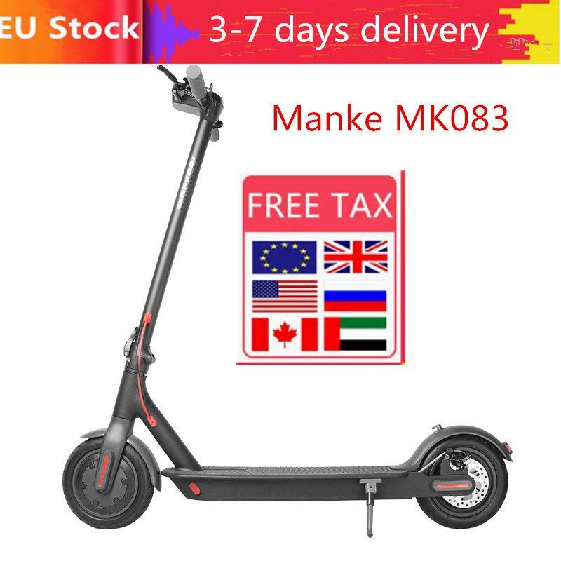 Free Fast Shipping, Stock Waterproof KickScooter Electric Scooter Adult Scooter Off-road E-scooter With APP