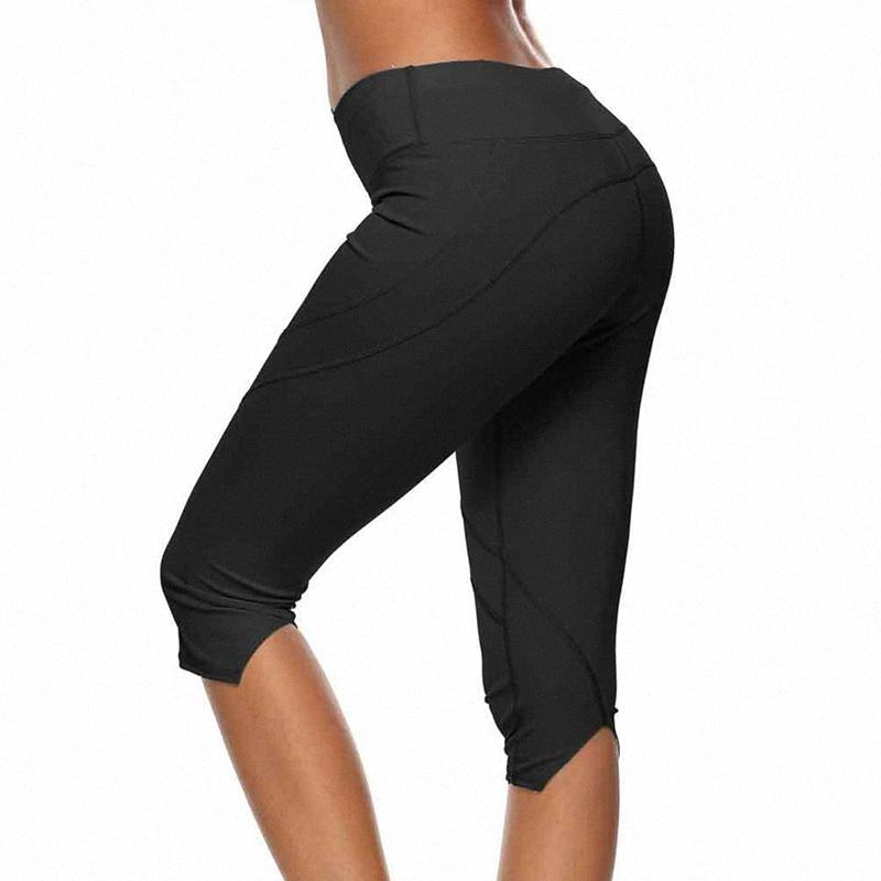Collant Donna di sport Fitness Yoga Pants lavoro in palestra Leggings Sport Donne fitness senza saldatura Sport Leggings Pants GTMR #
