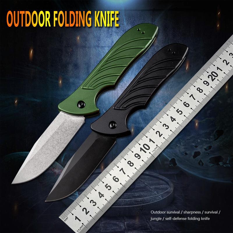 Açık çakı EDC bıçak hayatta kalma taktik katlanır bıçak avcılık taşınabilir alet bıçak kamp kalem kendini savunma