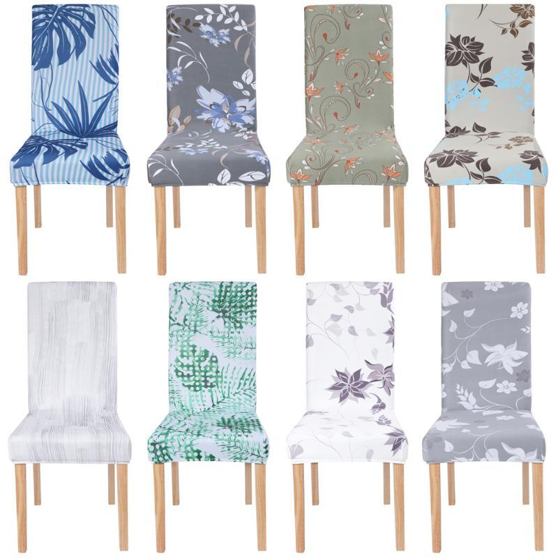1/2/4/6PCS Elastic Chair Cover Seat Cover Protector Chair Spandex For Home Restaurant Hotel Office
