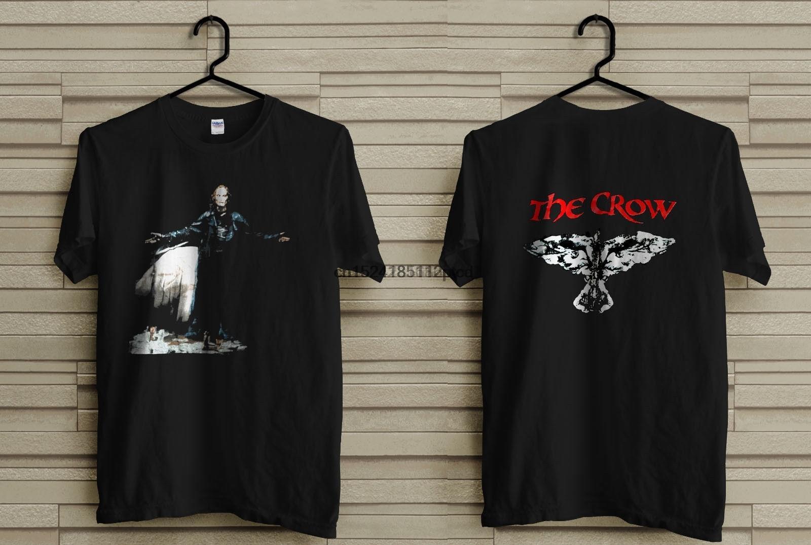Vintage Limited El Cuervo Negro de la camiseta para hombre Negro 1994 de la camiseta del tamaño S-5XL