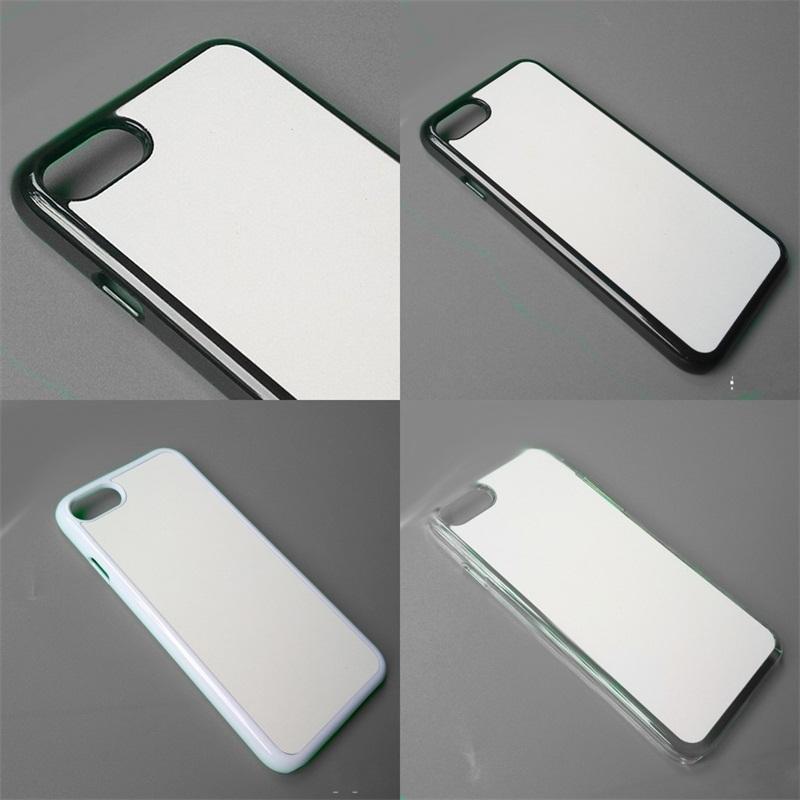 Telefono foglio Xs Max manicotto della cassa 2D dura di alluminio Shell sublimazione Blanks copertura del PC a trasferimento termico vuoto involucro personalizzato 3 2TN B2