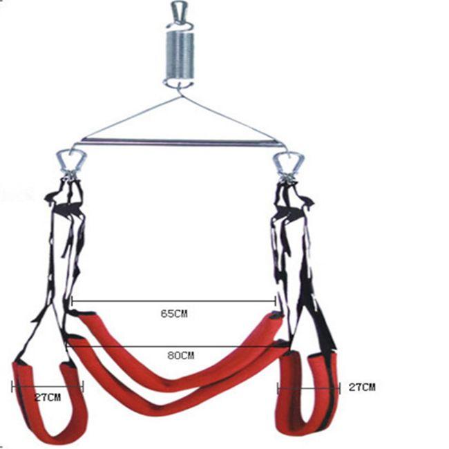 Free Sex Swing Enhancer Door Furniture/DHL/TNT Furniture Hanging Sex Position Shipping 360° Osfnu