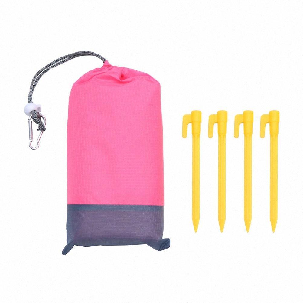 Açık Piknik Mat Su geçirmez Yürüyüş Ve Kampçılık Kamp Yürüyüş Polyester Izgara Bezi Taşınabilir Su geçirmez Çantası İçin Kamp Trav z3Tm #
