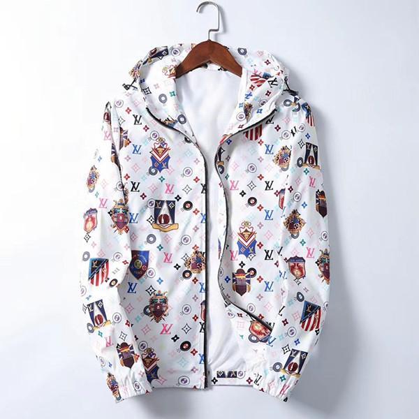 2020 nueva chaquetas para hombre del diseñador estrenar de impresión chaqueta de abeja Harajuku hip hop cazadora de béisbol chaquetas de la medusa tamaño M-3XL
