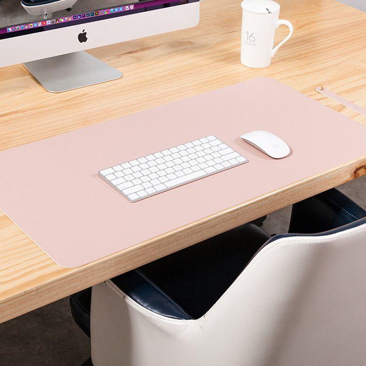 Oficina Suministros Escolares Accesorios de escritorio Mats de doble cara Portátil de gran tamaño PU de placa de cuero PU Mouse Pad My-INF0031