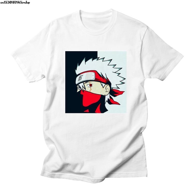 Naruto à manches courtes T shirt//Itachi Kakashi//Japonais Anime