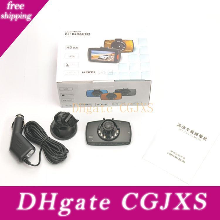 G30 cámara del coche 2 0.2 Full HD Dash Cam de 120 grados de ángulo de detección de movimiento Noche 1080p del coche DVR Grabador de Video Visión G -Sensor