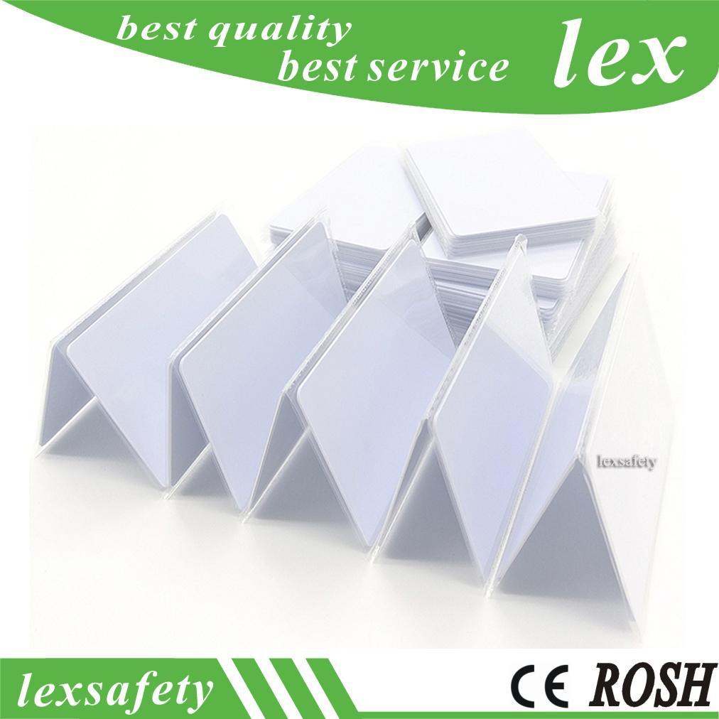 100pcs 13,56 puce RFID UID carte à puce réinscriptible PVC changeable 1k IC S50 à proximité bloc 0 Secteur Writable HF carte ISO14443A