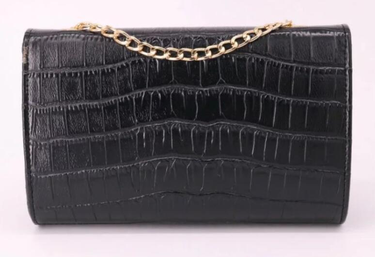 Frauen-Handtasche Krokodilmuster Y Pu Damen-Kette Schultertasche Handtasche Messenger Bag Handtasche tragbarer Stil