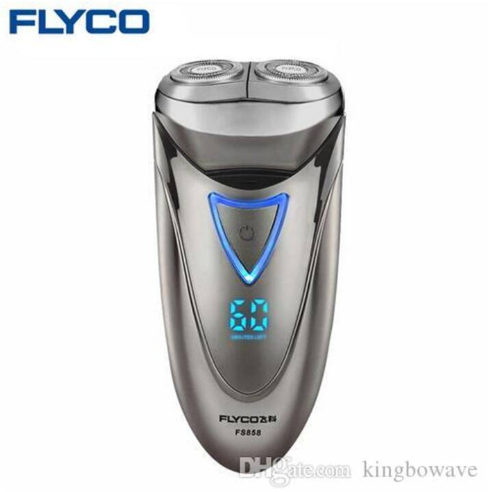 2020 New FLYCO professional Electric Shavers for Men Waterproof Rechargeable Shaver Razor LED Power Display 1 Hour Fast Charge 220V FS858