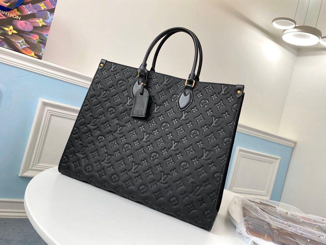 LOU1S VU1TTON onthego hakiki deri kadın tasarımcı lüks çanta haberci omuz çantası cepler Totes Alışveriş torbaları Sırt Çantası Anahtar Cüzdan