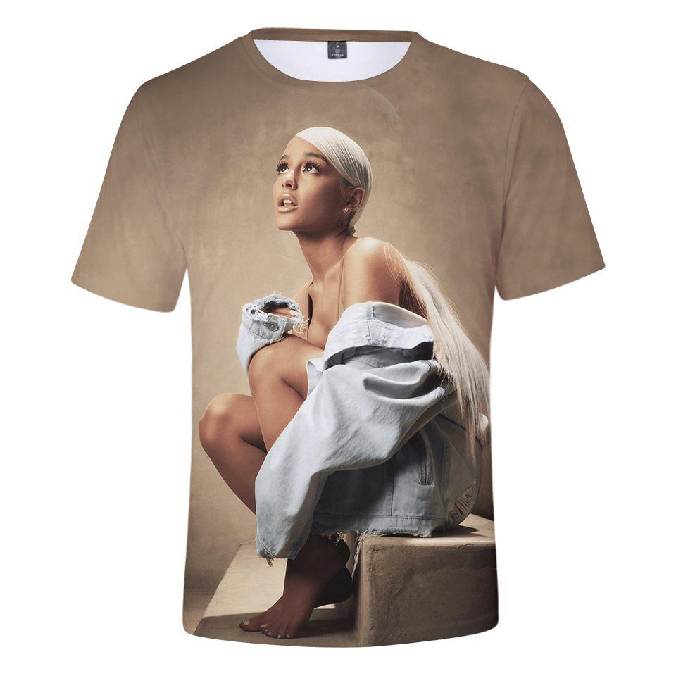 3D Гранде дизайнер высокого качества мужская и женская с короткими рукавами уличной шик панк футболки Harajuku моды