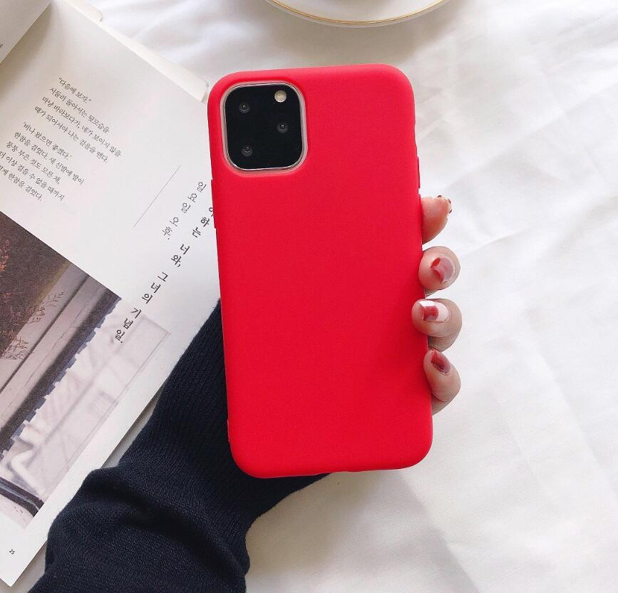 رقيقة جدا حلوى رخيصة حالة الألوان للحصول على هاتف اي فون برو 11 ماكس MAX XS XR X 6S 7 8 زائد