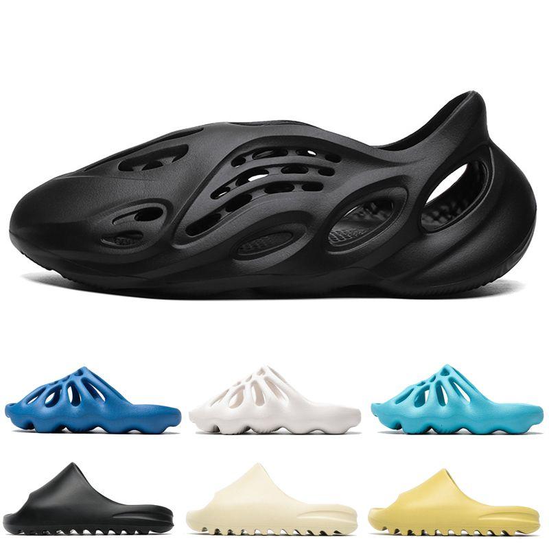 Kids slippers 450 Mens Sandal slides Earth Brown Foam Yellow Bone Desert Sand Resin men Women classic Slides slipper