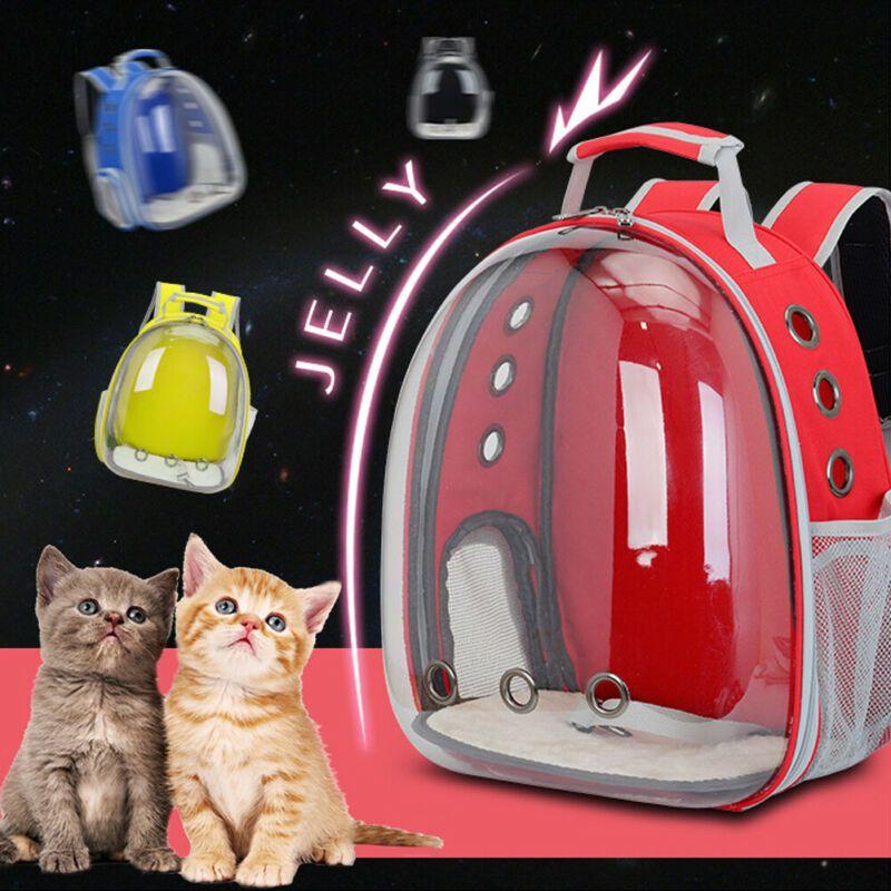 2019 Estilo de la moda de Nueva Hot Dog Mochila animal doméstico del perro del perrito gatito transpirable astronauta Carrier al aire libre
