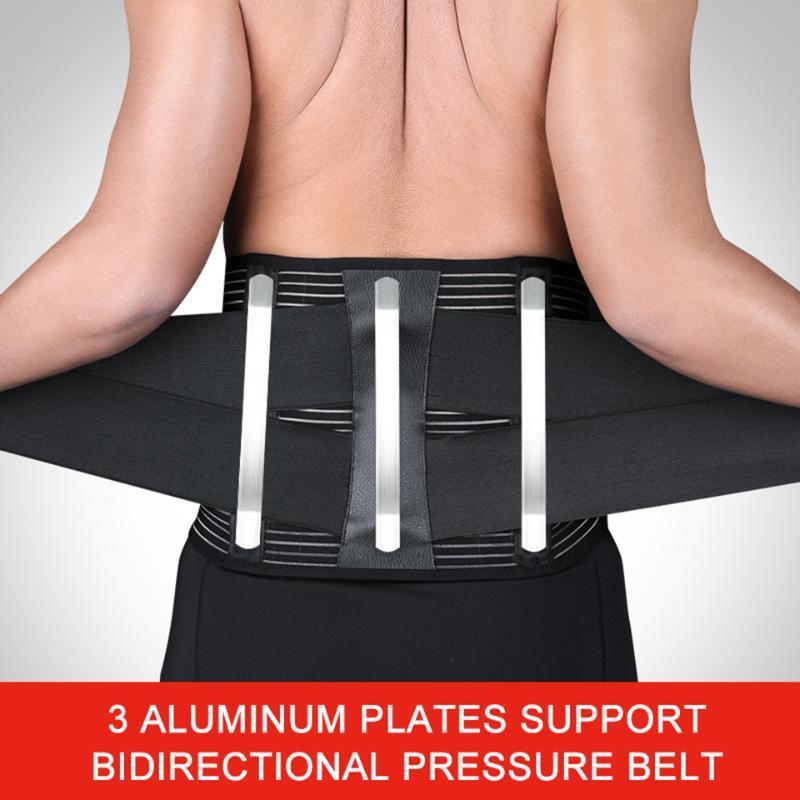 Geri Destek Lomber Ortopedik Fıtıklaşmış Disk Brace Bel Spinal Kemer Faja Ağrı kesici Unisex Ayarlanabilir