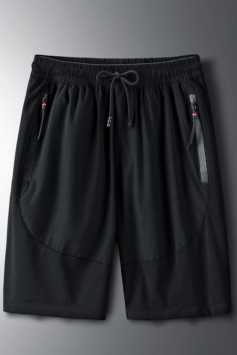 Erkekler yaz New düz gündelik spor şort plaj pantolon şort elastik bel yaz erkek plaj pantolon büyük beden