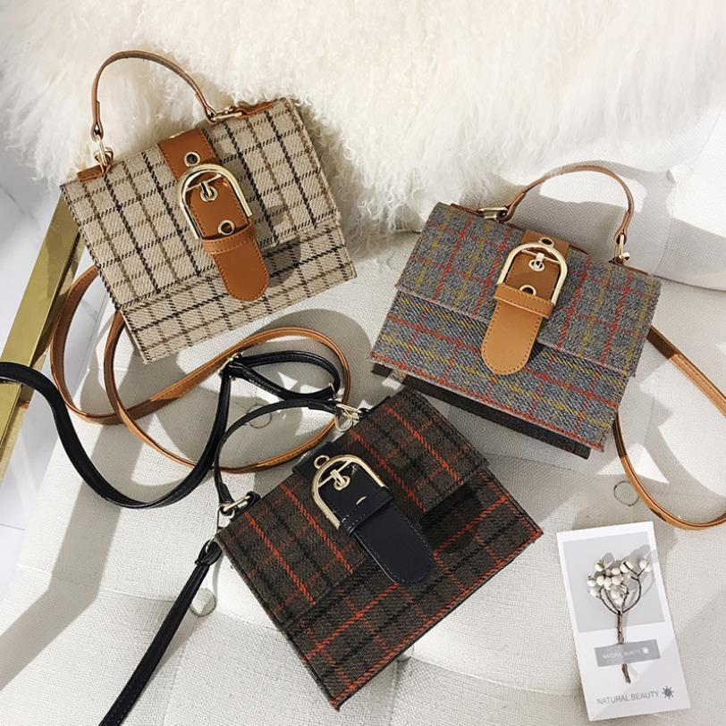 delle donne di stile della moda di New Fashion Bag Messenger Bags multifunzionale Cross-body piccole borse