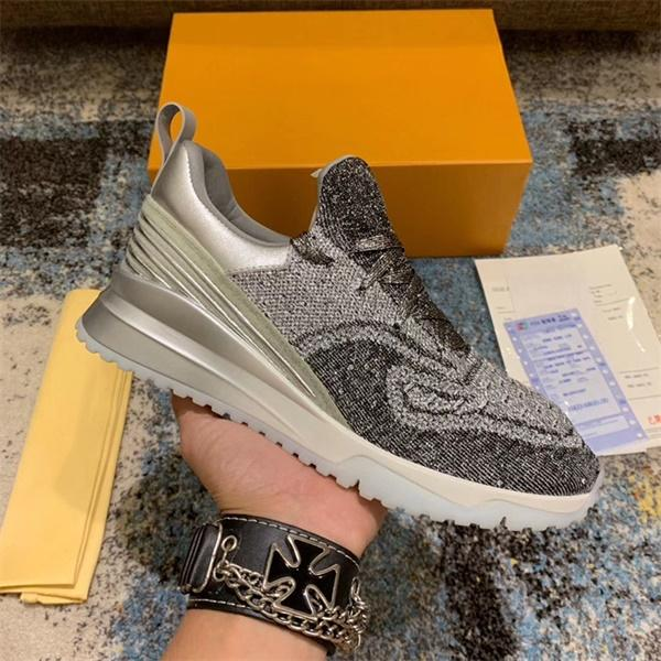 2020 zapatos de la zapatilla de deporte para hombre de las mujeres V.N.R Kint Formadores Moda transpirable baloncesto de las zapatillas de suela de goma de la vendimia con la CAJA US5-12