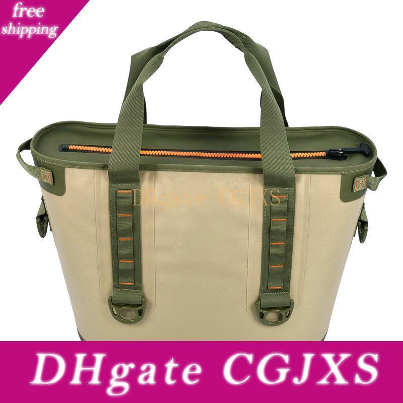 DHL 30L Grandi dispositivi di raffreddamento isolati | Impermeabile Cooler Bag Carrier pranzo Sacchi per il campeggio esterno, Beach Day o di viaggio del dispositivo di raffreddamento portatile
